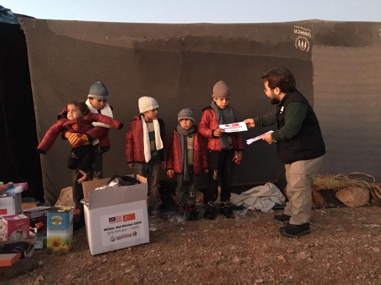 Winter Aid Syria